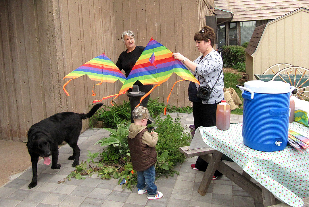 KITEFLYING (Connie at table) Oct 5 2014